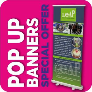 Pop Up Banners Special Offer